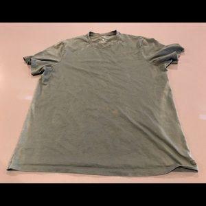 Armani Exchange Distressed Shirt